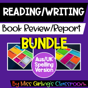 Book Review BUNDLE - All Primary Versions - Aus/UK Spelling