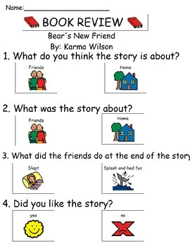 Book Review - Bears New Friend
