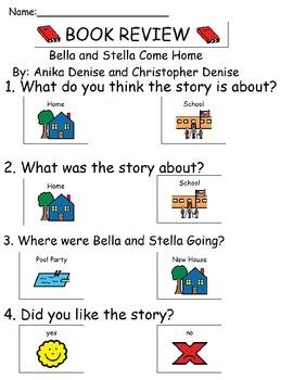 Book Review - Bella and Stella Come Home