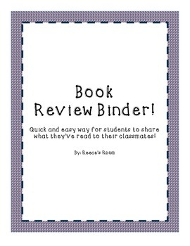 Book Review Binder