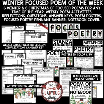 Christmas Poetry & Christmas Poem of The Week- Winter Activities