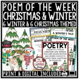 Christmas Poetry & Christmas Poem of The Week- Winter Activities