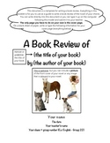 Book Review Booklet