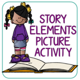 Book Review Bookmark and Book Review Picture Activity