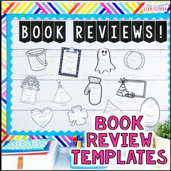 Book Review Bulletin Board: Entire School Year!