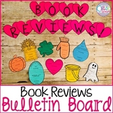 Book Review Bulletin Board: Christmas & Entire School Year!