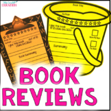 Independent Reading Book Review Bulletin Board: ALL YEAR LONG!