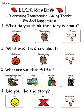 Book Review - Celebrating Thanksgiving