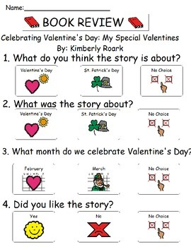 Book Review - Celebrating Valentines Day