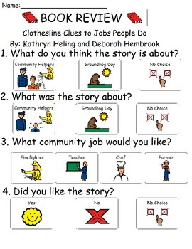 Book Review - Clothesline Clues to Jobs People Do