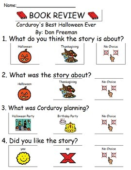 Book Review - Corduroy's Best Halloween Ever!