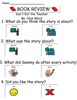 Book Review - Don't Eat the Teacher By: Nick Ward