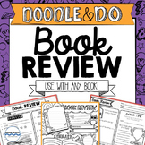 Book Review - Doodle Book Report - Use with any book!