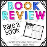Book Review + Favorite Book Activities {tabbed book, banner, craft, bookmark}