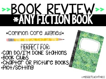Book Review - Fiction Books