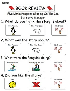 Book Review - Five Little Penguins Slipping on Ice