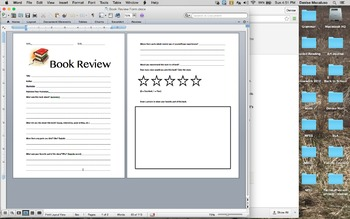 Book Review Form