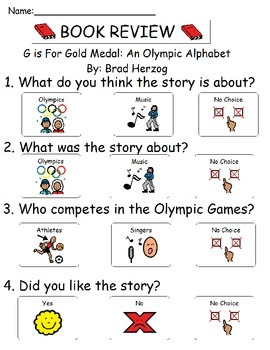 Book Review - G Is for Gold Medal