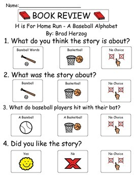 Book Review - H is For Homerun!