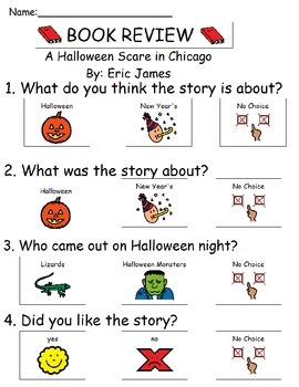 Book Review - Halloween Scare in Chicago By Eric James