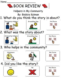 Book Review - Helpers in My Community