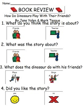 Book Review - How Do Dinosaurs Play With Their Friends?