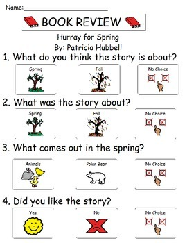Book Review - Hurray For Spring