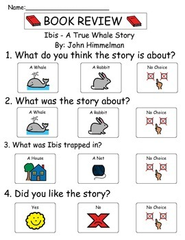 Book Review - Ibis A True Whale Story