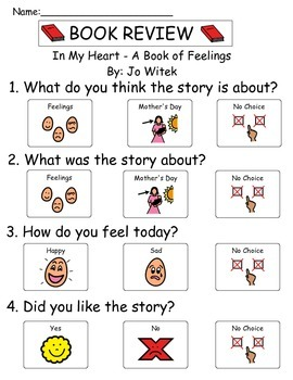 Book Review - In My Heart