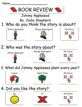 Book Review - Johnny Appleseed