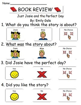 Book Review - Just Josie and the Perfect Day