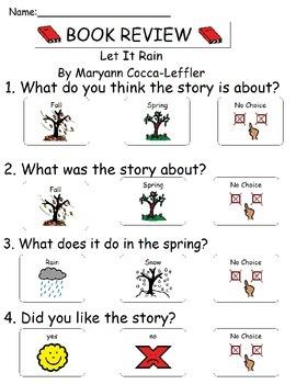 Book Review - Let It Rain