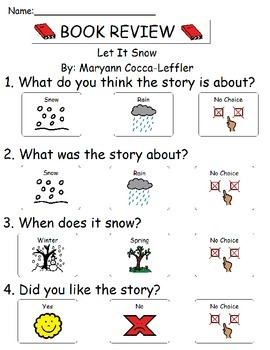 Book Review - Let It Snow