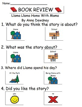 Book Review - Llama Llama Home With Mama