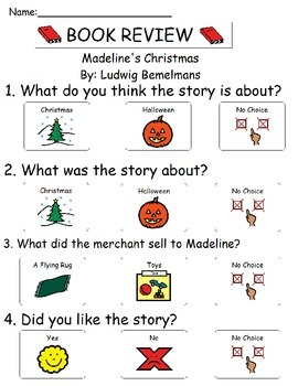 Book Review - Madeline's Christmas