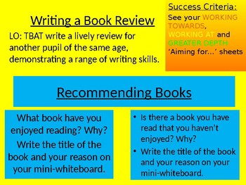 Book Review - Middle School