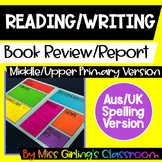 Book Review - Middle and Upper Primary Version - Aus/UK Spelling