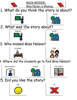 Book Review - Miss Nelson is Missing
