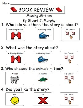Book Review - Missing Mitten