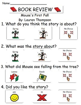 Book Review - Mouse's First Fall