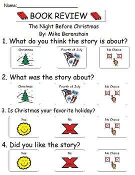 Book Review - The Night Before Christmas