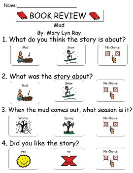 Book Review - Mud - with Comparing Activity