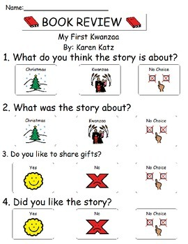 Book Review - My First Kwanzaa
