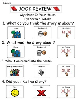 Book Review - My House Is Your House
