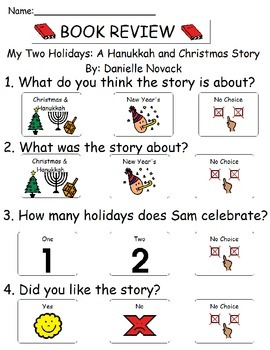 Book Review - My Two Holidays - A Hanukkah and Christmas Story