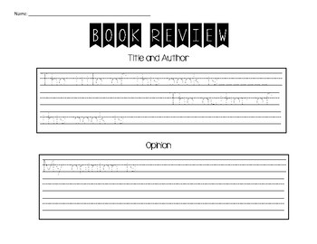 Book Review Organizer