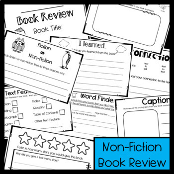 Book Review Packet fiction and non-fiction: Independent Reading Group