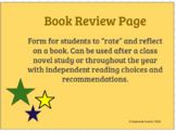 Book Review Page
