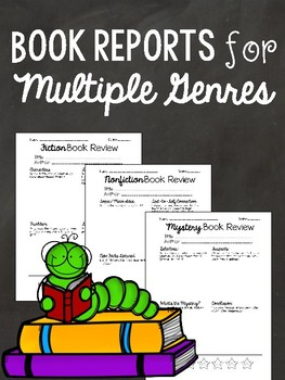 Book Review Pages - Fiction, Nonfiction, Biography, Mystery, and Fables