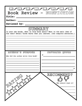 Book Review Pennant - for Fiction & Nonfiction